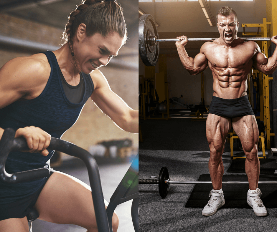 Что следует делать сначала: кардио или силовые тренировки? - GymBeam Blog