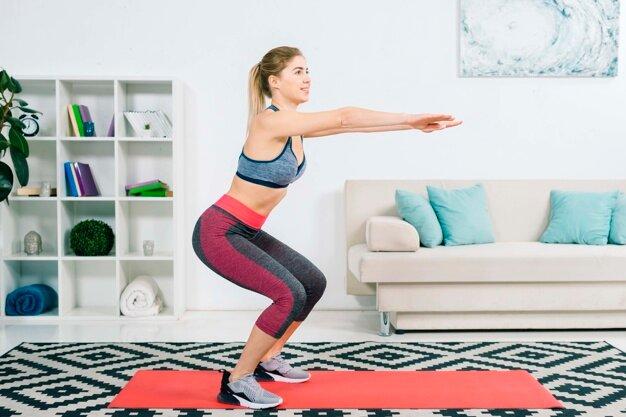 Ударная домашняя тренировка на всё тело | Дневник красотки | Яндекс Дзен